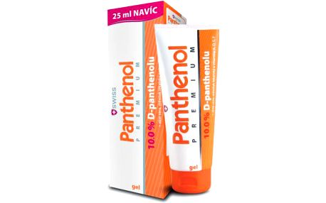 Panthenol 10% Swiss PREMIUM gel 100+25ml Zdarma