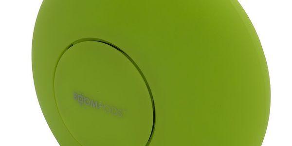 Přenosný dual stereo speaker Doubleblaster, zelený