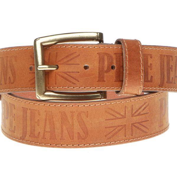 Originální pánský kožený pásek módní značky Pepe Jeans
