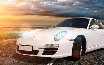 Adrenalinová jízda ikonou PORSCHE CARRERA 911