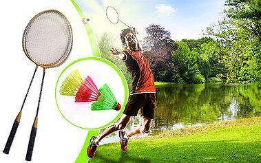 Badmintonová souprava za 129 Kč! + 3 míčky ZDARMA!