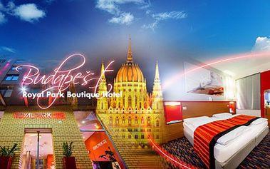Exkluzivní pobyt ve 4* hotelu přímo v metropoli Maďarska! Budapešť na 3 DNY pro 2 OSOBY včetně SNÍDANĚ a maďarského SEKTU za jedinečných 3490 Kč! Platnost voucheru 1 ROK! Poznejte krásu Budapešti se slevou 47%!