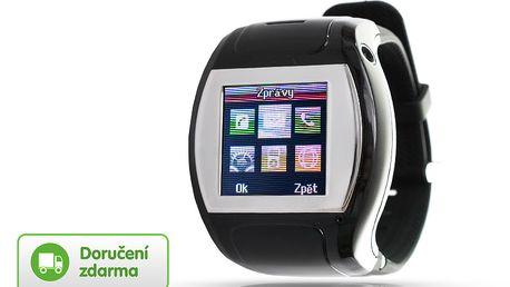 Chytré hodinky s telefonem a fotoaparátem