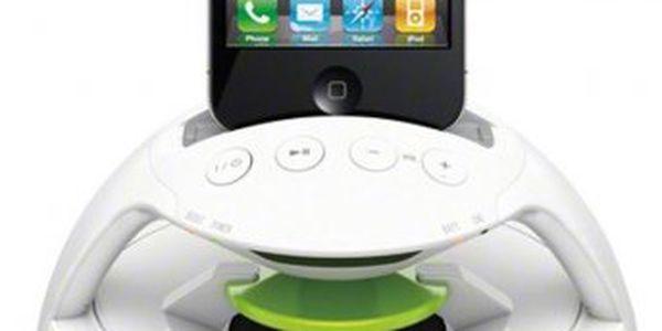 Přenosný nabíjecí dokovací reproduktor pro Apple iPod/iPhone Sony RDP-V20IP s integrovanou baterií