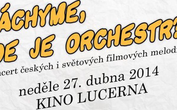 Koncert Pražského filmového orchestru v kině Lucerna