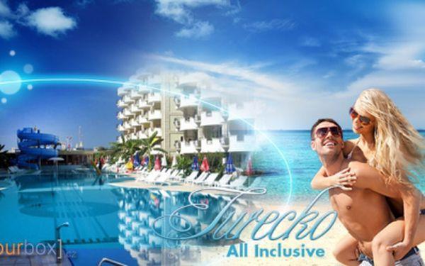 Květnová dovolená v Turecku! OSM DNÍ, LETECKY s ALL INCLUSIVE a ubytováním ve hotelu**** jen za 10.990 Kč! Voucherem hradíte zálohu ve výši 499 Kč, zbytek doplácíte v CK!