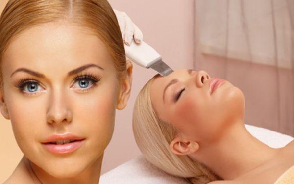 Profesionální kosmetické ošetření pleti s použitím ultrazvukové špachtle! Celých 70 minut péče pro Váš obličej za použití moderních technik za fantastickou cenu 350 Kč! Navíc BONUS - úprava obočí ZDARMA! Sleva 50%!