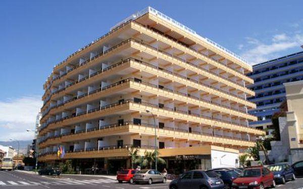 Kanárské ostrovy, oblast Tenerife, snídaně, ubytování v 3* hotelu na 8 dní