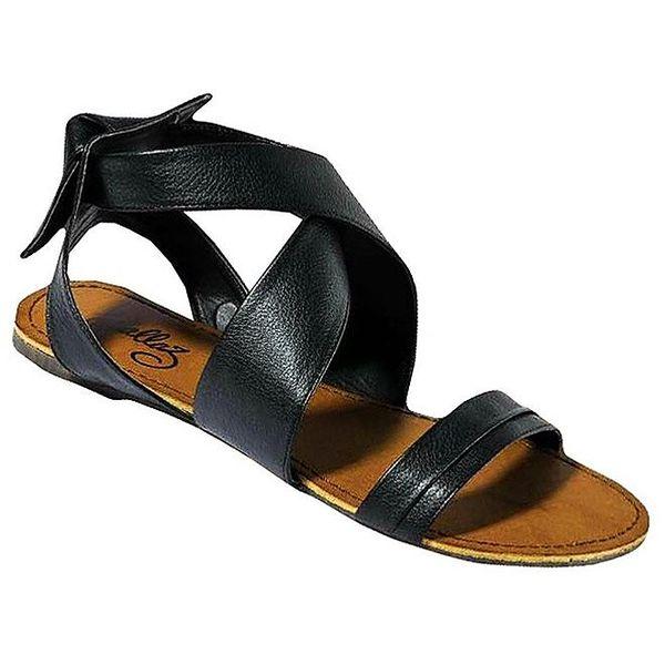 Dámské černé sandálky Gallaz