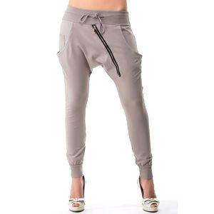 Dámské turecké kalhoty v šedé barvě Sixie