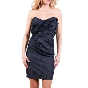 Dámské šedé pouzdrové šaty Barbarella