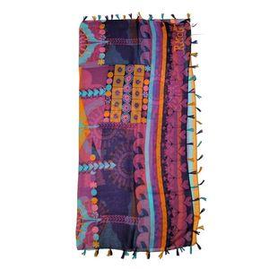 Dámský fialově vzorovaný šátek Rosalita McGee