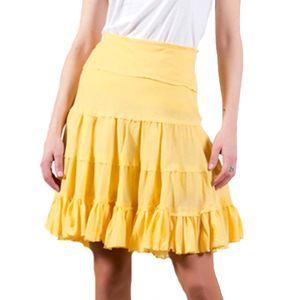 Dámská žlutá sukně Barbarella