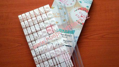 Naznačovač abeceda tiskací (plastový)
