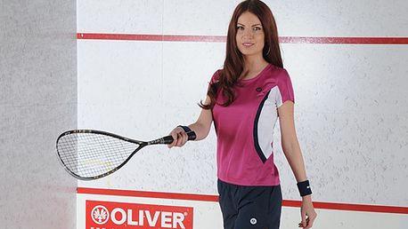 Odolná squashová raketa OLIVER pro začínající a mírně pokročilé hráče za exkluzivních 690 Kč