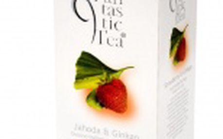 Ovocný čaj Biogena Fantastic Jahoda a Ginkgo (porcovaný)