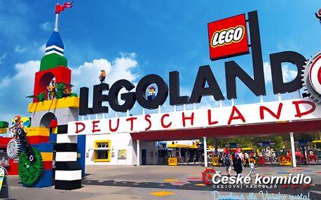Zájezd do německého Legolandu