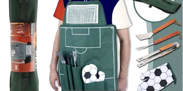 Fotbalová grilovací sada - připravte se na grilovací sezónu!