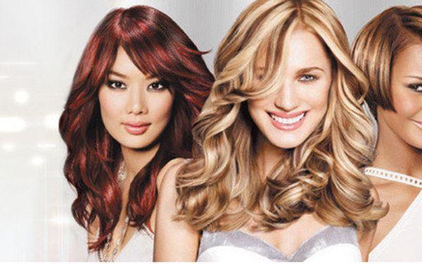 Barvení vlasů krátkých a polodlouhých vlasů