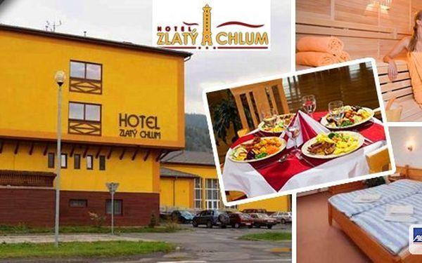 JESENÍKY - Pobyt pro 2 osoby na 3 dny nebo 4 dny v hotelu Zlatý chlum s polopenzí, saunou a posilovnou