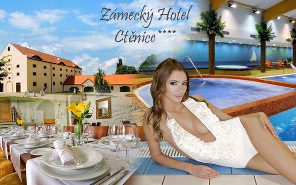 Romantický pobyt v Zámeckém hotelu Ctěnice****