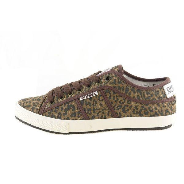 Dámské leopardí tenisky Diesel