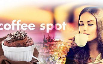 Přijměte pozvání do naší příjemné moderní kavárny Spot Coffee v samotném srdci Prahy na ZNAMENITOU KÁVU a DOMÁCÍ MUFFIN, za senzačních 39 Kč! Sídlíme přímo pod Pražským hradem, u metra Malostranská! Sleva 44%!