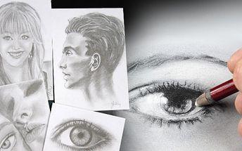 Kurz KRESLENÍ pravou mozkovou hemisférou za báječných 990 Kč! Kreslení podobně jako psaní je dovednost, které je možno se naučit. Naučit se kreslit je především naučit se správně vidět. Kreslit portréty budete již ZA DVA DNY!
