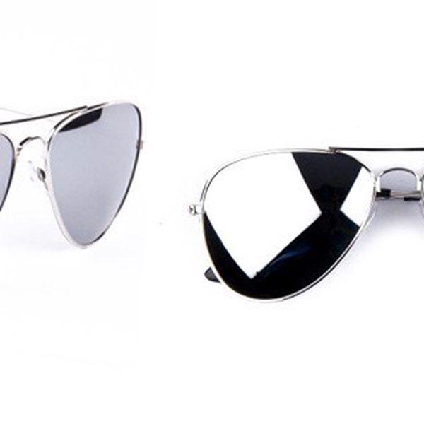 Luxusní zrcadlové brýle AVION PILOT s filtrem UV 400 a kvalitním ocelovým provedením nožiček pro muže i ženy!