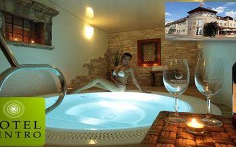 Luxusní relax v hotelu Centro**** Hustopeče - jediné vinné lázně 3 dny s polopenzí a wellness až do 31.8.