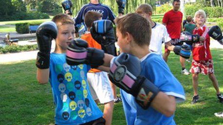 Thai-box pro děti a mládež od 9 do 14 let