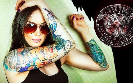 Tetování levně ze Studia Aries Tattoo!