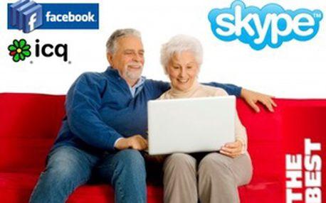 Kurz pro seniory - Facebook, ICQ a SKYPE