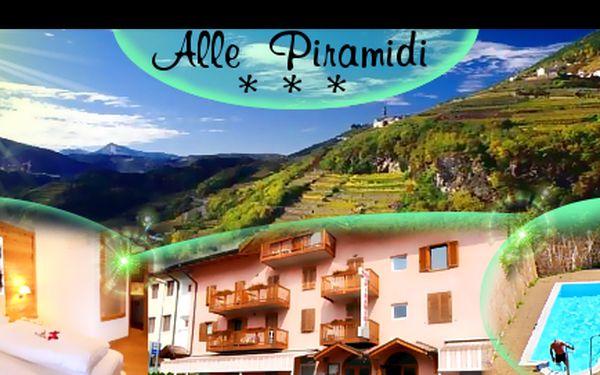 5denní dovolená pro 2 osoby v Itálii s 52% slevou! Užijte si výlety po jižním Tyrolsku. Navíc sleva na wellness!