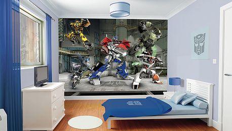 Tapeta Transformers - 305 x 244 cm