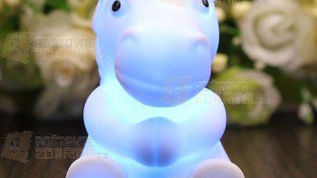 Svítící lampička - koník měnící barvy a poštovné ZDARMA! - 12607747
