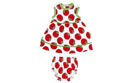 Letní šatičky a spodní kalhotky s rajčetem