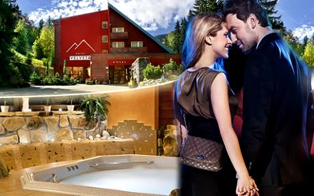 Romantika v Krkonoších pro DVA na 3 dny s privátním wellness