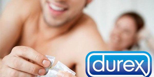 40 kusů speciálních kondomů Durex s lubrikačním gelem!