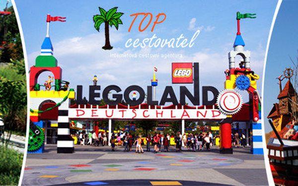 Celodenní výlet do Legolandu vč. vstupenky