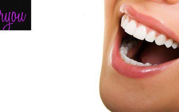 Profesionální zesvětlení zubů v salónu Slim for you v Praze