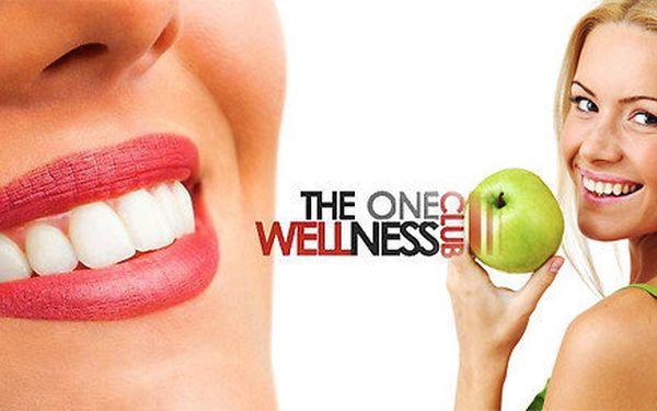 Profesionální zesvětlení zubů v salónu The One Wellness v Brně
