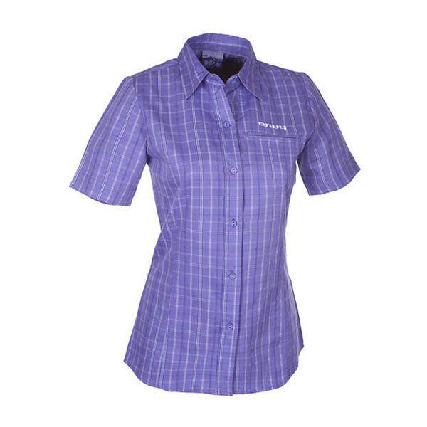 Dámská fialová kostkovaná košile Envy
