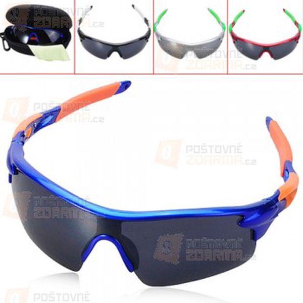 Sportovní brýle - 4 barevné provedení a poštovné ZDARMA! - 12507328