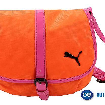 Zářivě oranžová dámská kabelka Puma
