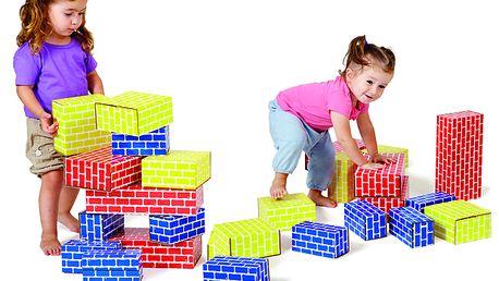 Lehké stavební kostky, 36 ks