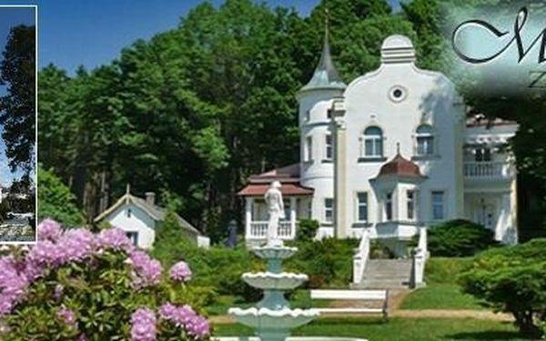 4990 Kč 5denní pobyt pro dva v secesním zámečku Milada. Užijte si příjemnou dovolenou v pohádkovém pensionu na Chodsku .
