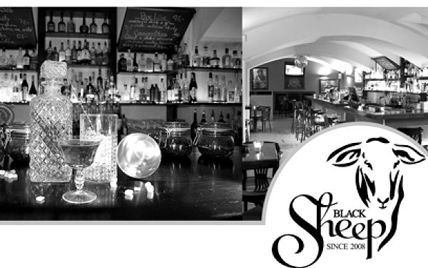 5 koktejlů v Baru Black Sheep za 325 Kč! Někdejší Černá Ovce v Americké ulici v centru!