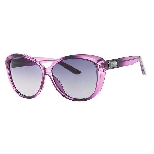 Dámské fialkové sluneční brýle Guess