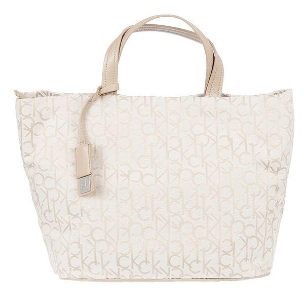 Dámská bílá taška s potiskem Calvin Klein